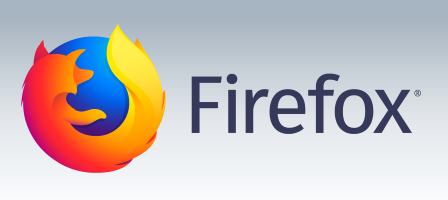 Mozilla Firefox logo and wordmark